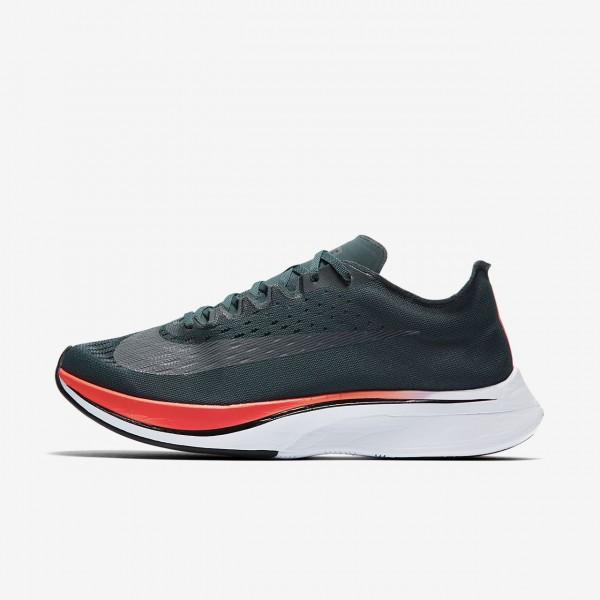 Nike Zoom Vaporfly 4% Laufschuhe Damen Blau Rot Sc...