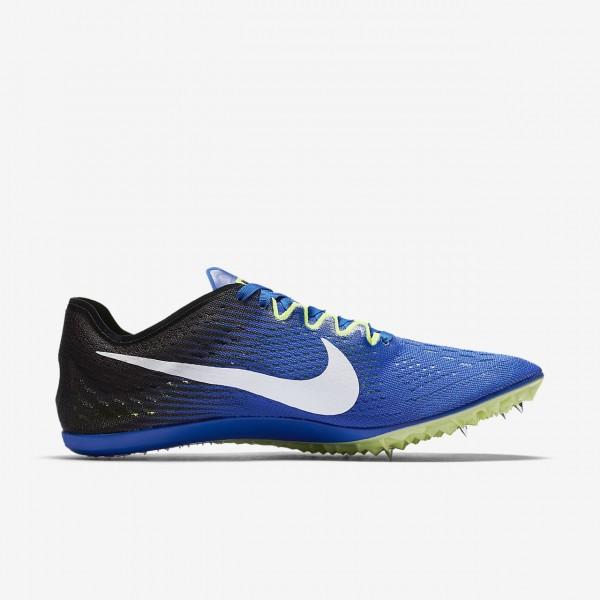Nike Zoom Victory 3 Spike Schuhe Damen Blau Schwarz Grün Weiß 343-85673