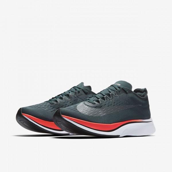 Nike Zoom Vaporfly 4% Laufschuhe Damen Blau Rot Schwarz 907-61171