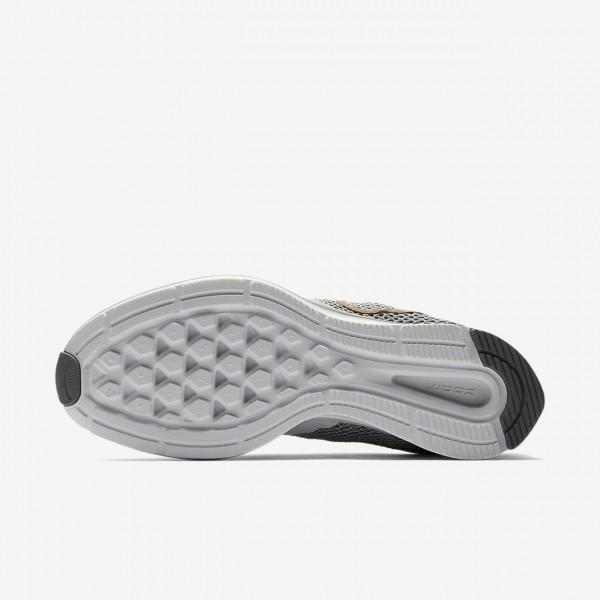 Nike Zoom Strike Laufschuhe Damen Platin Grau Rot Metallic Rot Bronze 997-83489