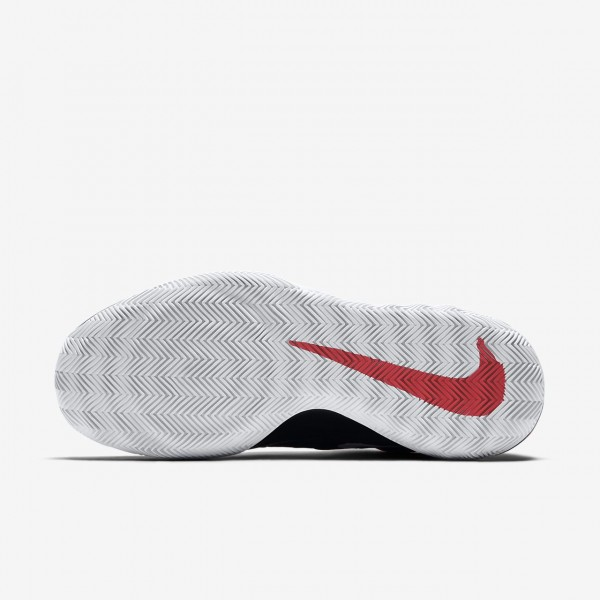 Nike Zoom Rev Basketballschuhe Damen Schwarz Rot Weiß 162-24136
