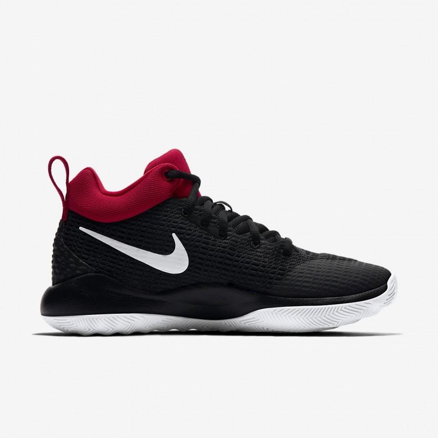 Nike Zoom Rev Basketballschuhe Damen Schwarz Rot Weiß 162