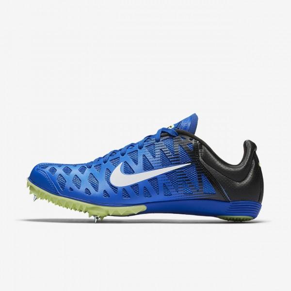 Nike Zoom Maxcat 4 Spike Schuhe Damen Blau Schwarz...