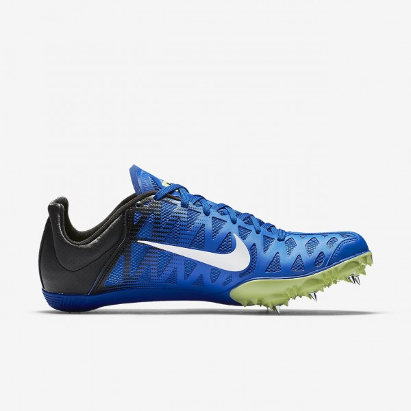 Nike Zoom Maxcat 4 Spike Schuhe Damen Blau Schwarz Grün Weiß 122-30369
