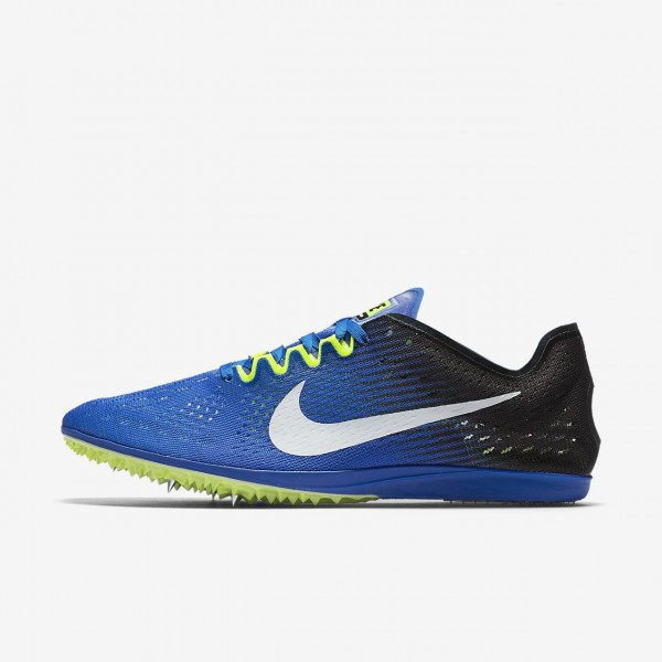 Nike Zoom Matumbo 3 Spike Schuhe Damen Blau Schwar...