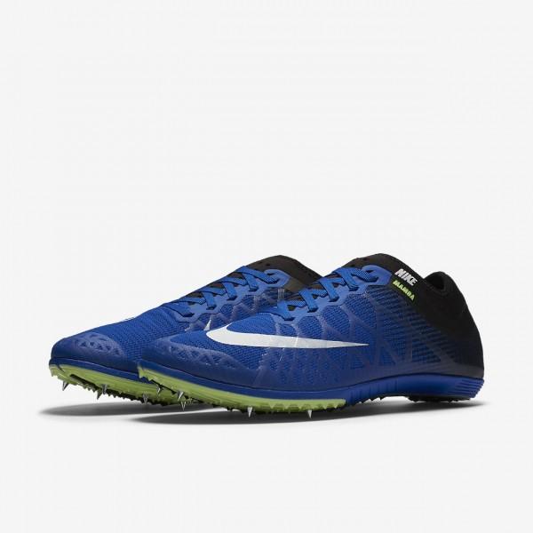 Nike Zoom Mamba 3 Spike Schuhe Damen Blau Schwarz Grün Weiß 165-78730