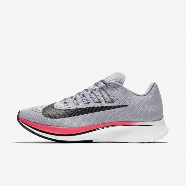 Nike Zoom Fly Laufschuhe Damen Lila Hellgrau Rot S...