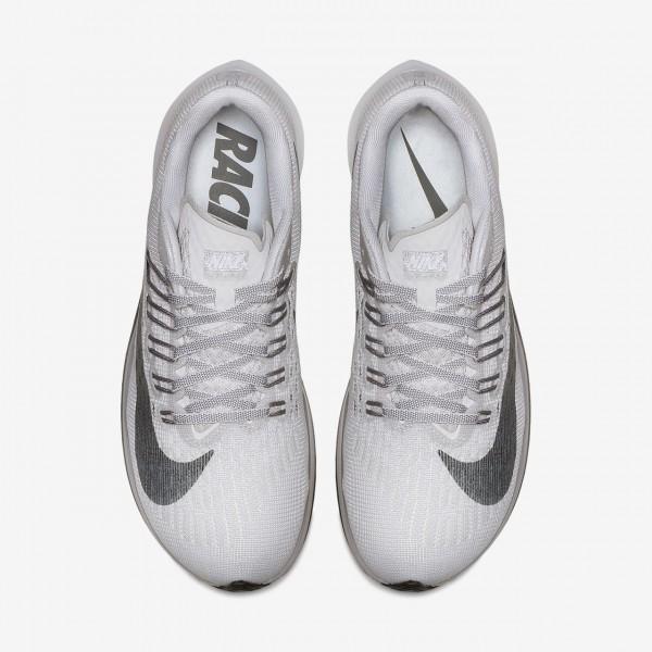 Nike Zoom Fly Laufschuhe Damen Grau Weiß Schwarz 347-70129