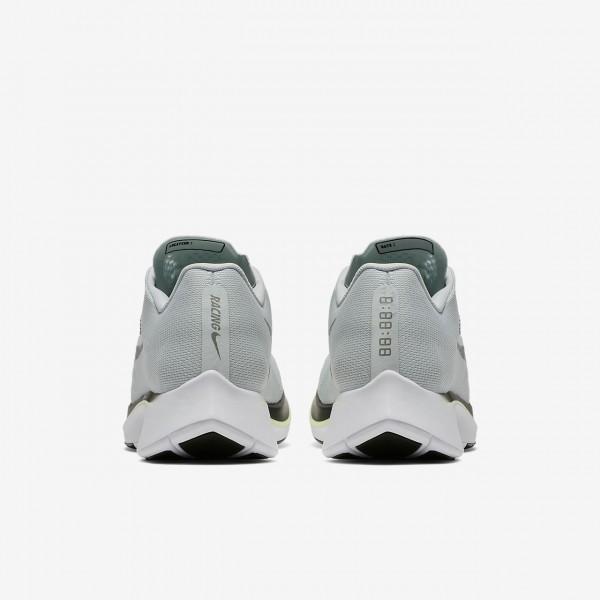 Nike Zoom Fly Laufschuhe Damen Grau Schwarz Grün Gelb 825-99110