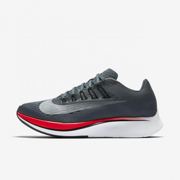 Nike Zoom Fly Laufschuhe Damen Blau Rot 897-65404