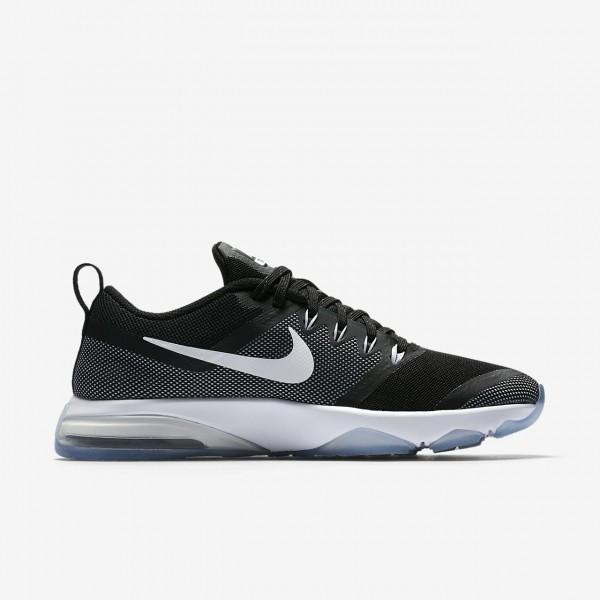 Nike Zoom Fitness Trainingsschuhe Damen Schwarz Weiß 433-52214