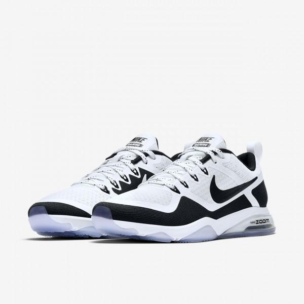Nike Zoom Fitness Trainingsschuhe Damen Weiß Schwarz 224-32350
