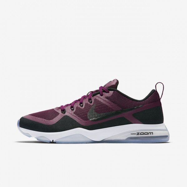 Nike Zoom Fitness Trainingsschuhe Damen Bordeaux S...