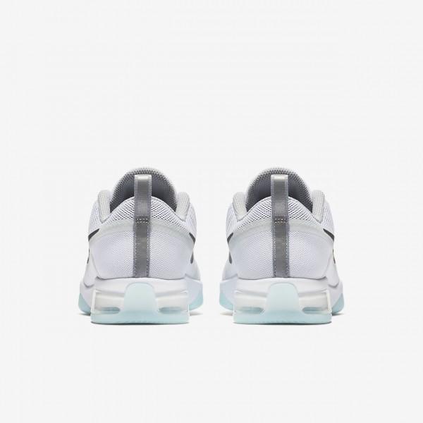 Nike Zoom Fitness Reflect Trainingsschuhe Damen Weiß Blau Grau Silber 161-61662