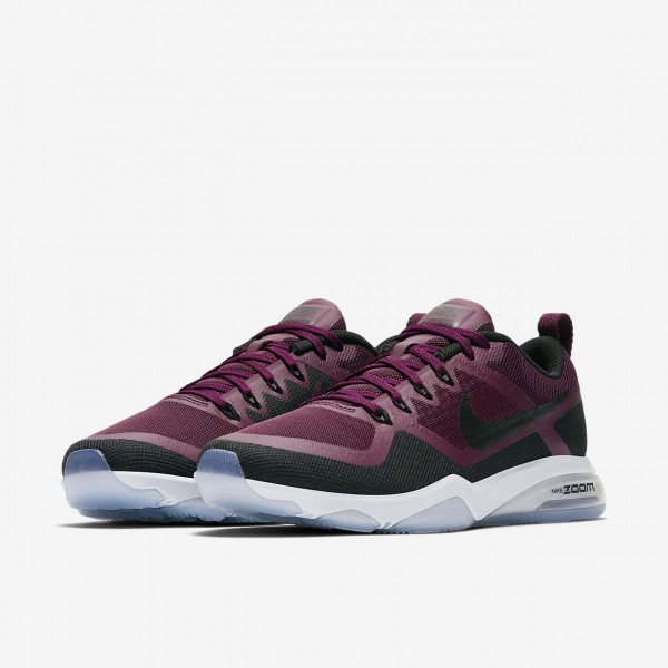 Nike Zoom Fitness Trainingsschuhe Damen Bordeaux Schwarz 689-35646