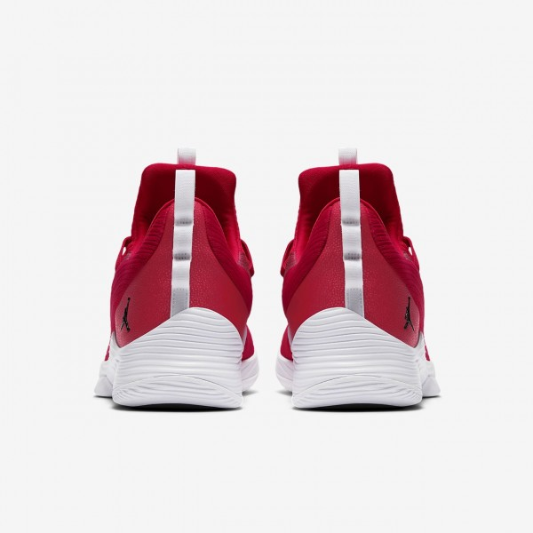 Nike Jordan Ultra Fly 2 low Basketballschuhe Herren Rot Weiß Schwarz 628-65924