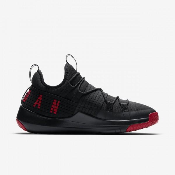 Nike Jordan Trainer Pro Trainingsschuhe Herren Schwarz Rot 723-31136
