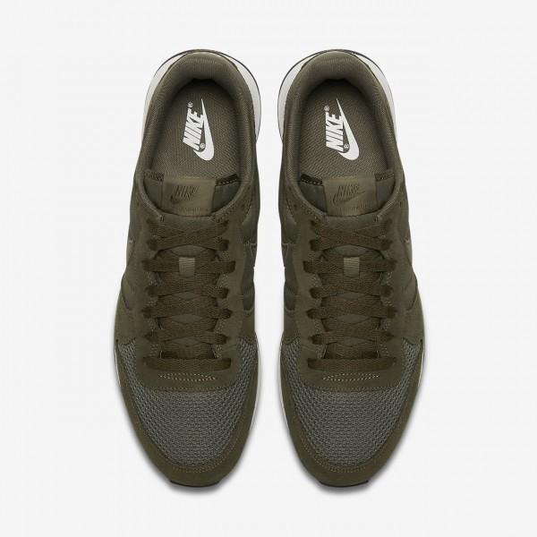 Nike Internationalist Se Freizeitschuhe Herren Olive Weiß Schwarz 626-49760
