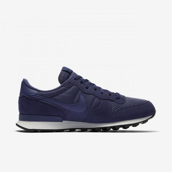 Nike Internationalist Se Freizeitschuhe Herren Blau Weiß Schwarz 831-61738
