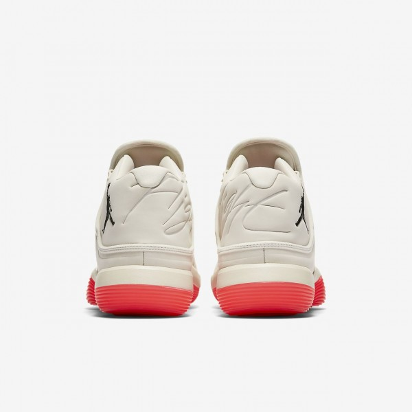 Nike Jordan Superfly 2017 Basketballschuhe Herren Weiß Rot Schwarz 652-22862