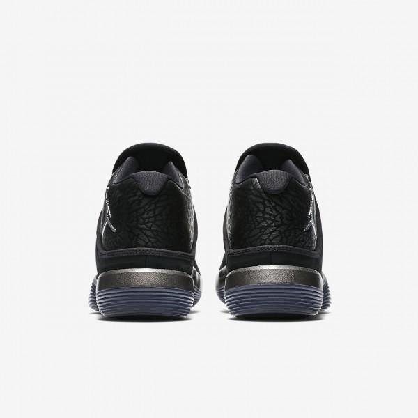 Nike Jordan Superfly 2017 Basketballschuhe Herren Schwarz Silber 703-78034