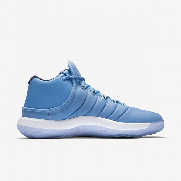 Nike Jordan Superfly 2017 Basketballschuhe Herren Blau Rot Schwarz 421-65706