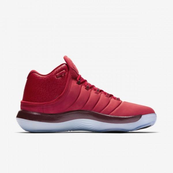 Nike Jordan Superfly 2017 Basketballschuhe Herren Rot Schwarz 918-85376