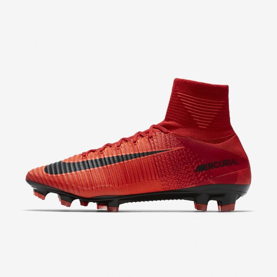 Nike Mercurial Superfly V Fg Fussballschuhe Herren Rot