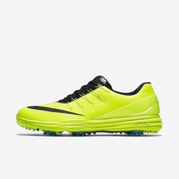 Nike Lunar Control 4 Golfschuhe Herren Grün Blau Schwarz 286-89298