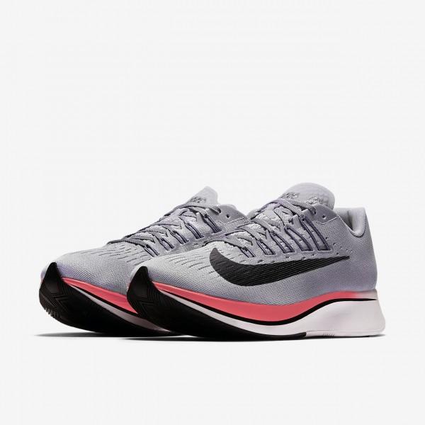 Nike Zoom Fly Laufschuhe Damen Lila Hellgrau Rot Schwarz 821-31472