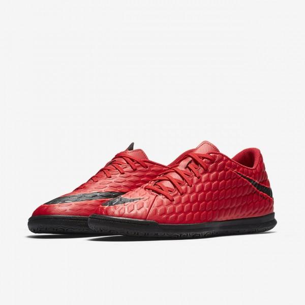 Nike Hypervenomx Phade 3 Ic Fußballschuhe Herren Rot Schwarz 769-36024