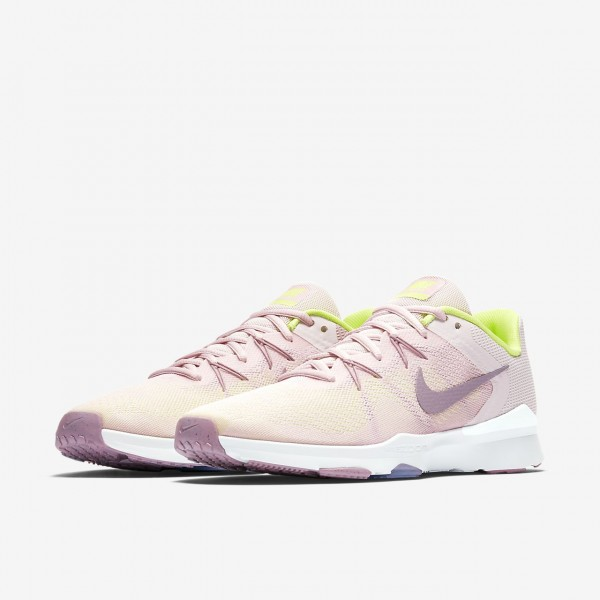 Nike Zoom Condition Tr 2 Trainingsschuhe Damen Rosa Weiß Grün 931-48954