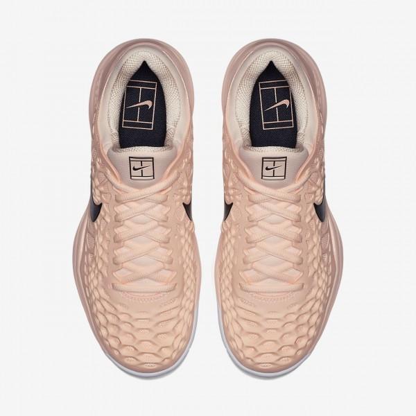 Nike Zoom Cage 3 Tennisschuhe Damen Rot Weiß Schwarz 106-92661