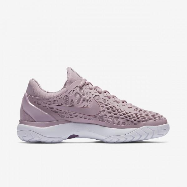 Nike Zoom Cage 3 Tennisschuhe Damen Rosa Weiß Lila 551-17023