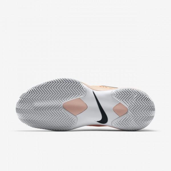 Nike Zoom Cage 3 Clay Tennisschuhe Damen Rot Weiß Schwarz 526-22334