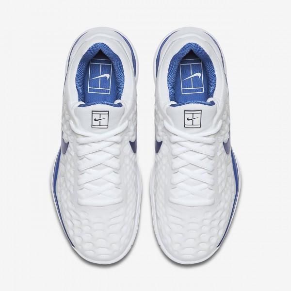 Nike Zoom Cage 3 Tennisschuhe Damen Weiß Blau 805-54566