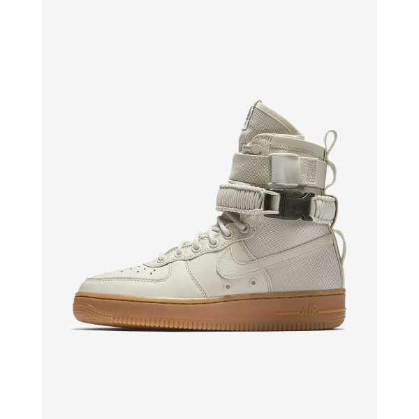 Nike Sf Air Force 1 Boots Damen Weiß Braun 738-57...