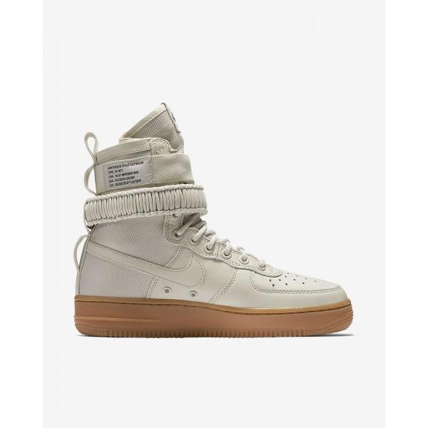 Nike Sf Air Force 1 Boots Damen Weiß Braun 738-57427