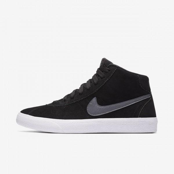 Nike Sb Bruin high Skaterschuhe Damen Schwarz Wei�...