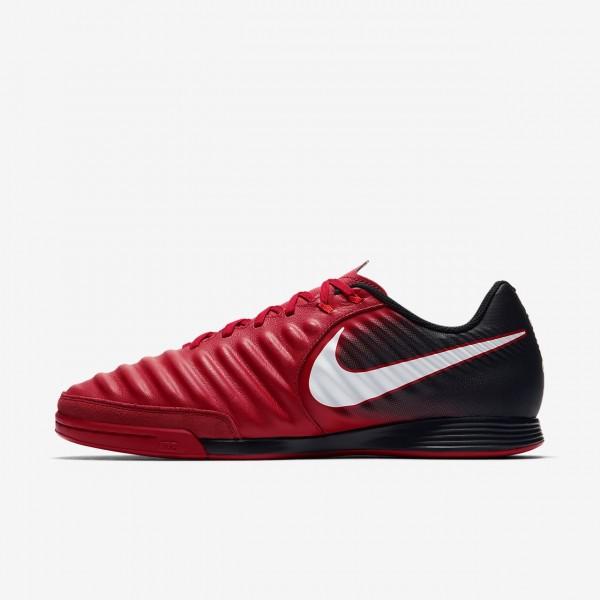 Nike Tiempox Ligera Iv Ic Fußballschuhe Damen Schwarz Rot Weiß 330-61470