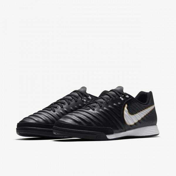 Nike Tiempox Ligera Iv Ic Fußballschuhe Damen Schwarz Weiß 434-67457