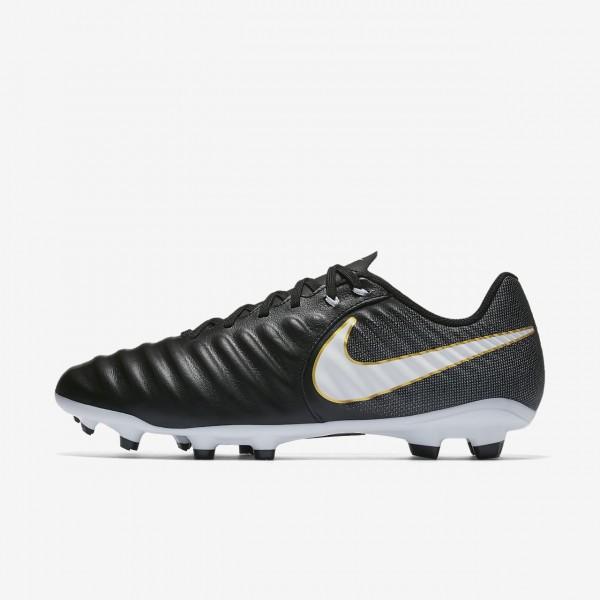 Nike Tiempo Ligera Iv Fg Fußballschuhe Damen Schwarz Weiß 944-39327