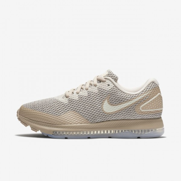 Nike Zoom All Out low 2 Laufschuhe Damen Grau Sand...