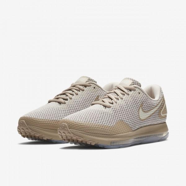 Nike Zoom All Out low 2 Laufschuhe Damen Grau Sand Weiß 691-97889