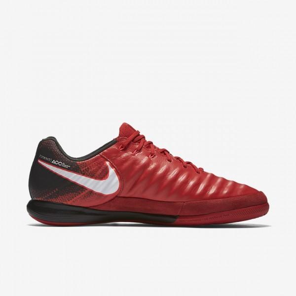 Nike Tiempox Proximo II Ic Fußballschuhe Damen Schwarz Rot Weiß 109-75335