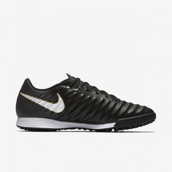 Nike Tiempox Ligera Iv Tf Fußballschuhe Damen Schwarz Weiß 624-71438