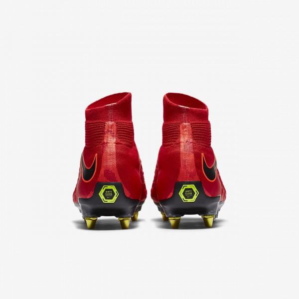 Nike Hypervenom Phantom 3 Df Sg-pro Ac Fußballschuhe Herren Rot Schwarz 371-12027