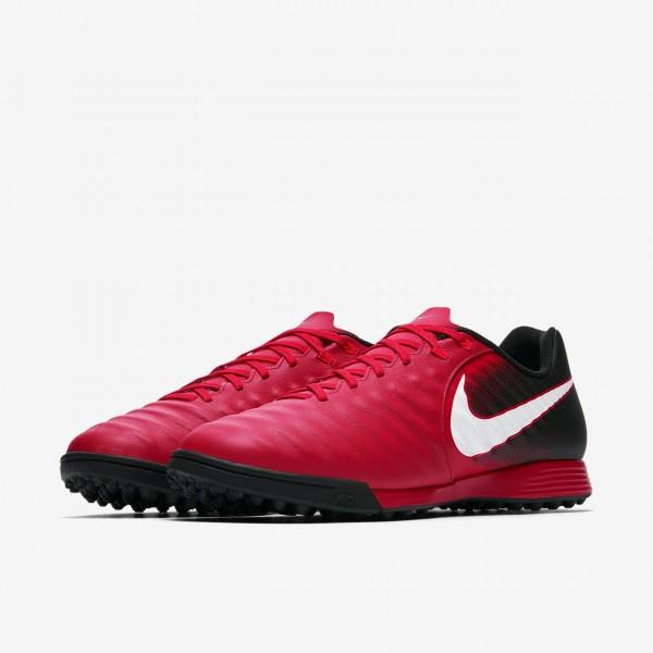 Nike Tiempox Ligera Iv Tf Fußballschuhe Damen Schwarz Rot Weiß 448-42112
