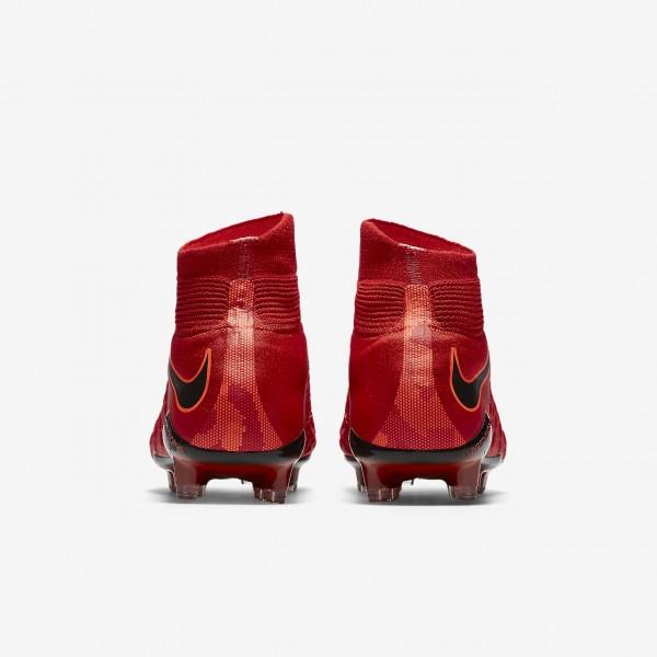 Nike Hypervenom Phantom 3 Df Fg Fußballschuhe Herren Rot Schwarz 212-19520
