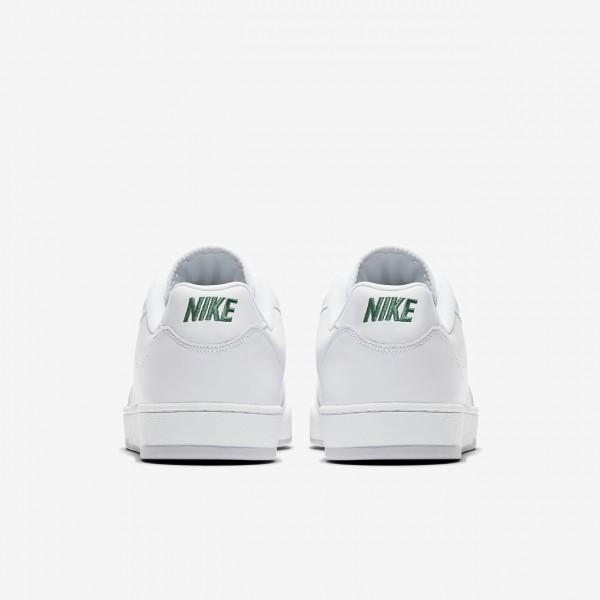 Nike Grandstand II Premium Freizeitschuhe Herren Weiß Dunkelgrün Grau Orange 516-93005